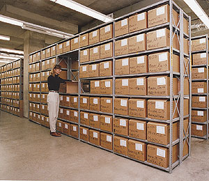 Document Record Storage for Law Firms and Hospitals